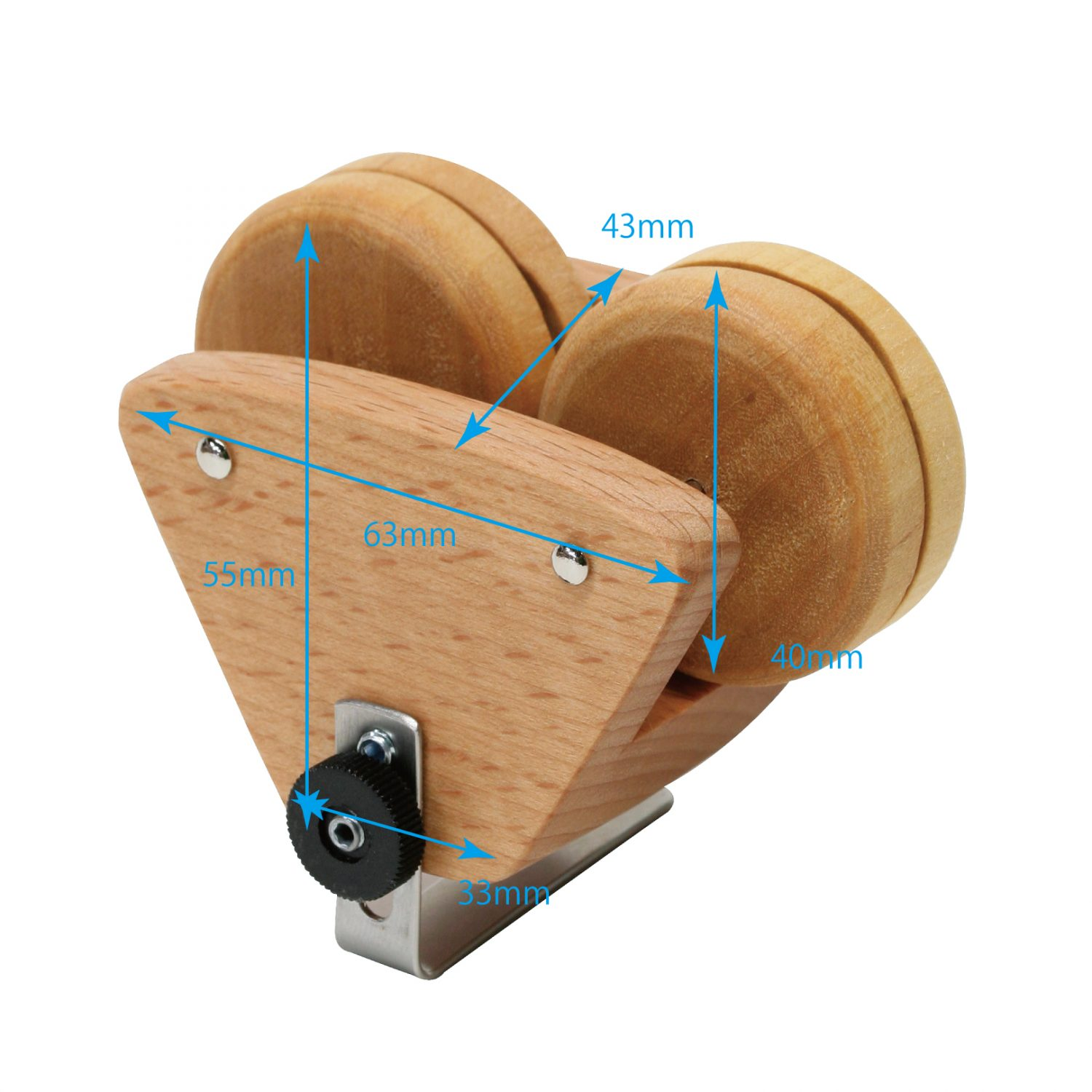 DOUBLE-CLIP-WOOD-S-SIZE
