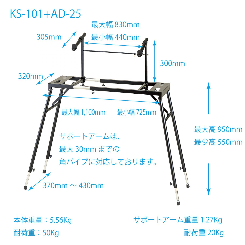 KS-101+AD-25-SIZE