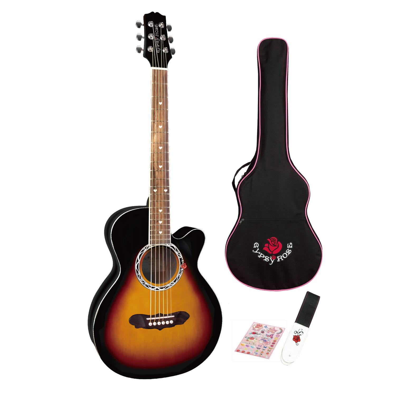 【GYPSY ROSE】大人気のジプシーローズのアコースティックギターキットに ちょっと大人でシックなカラー3 色が登場!!!