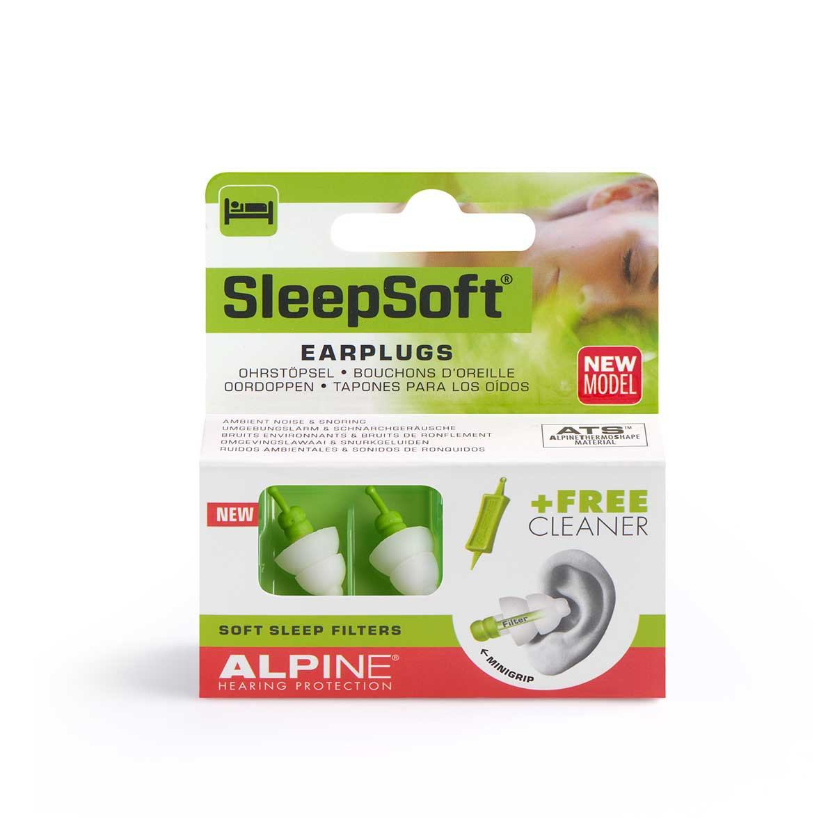 Sleepsoft-minigrip-packaging-earplugs-alpine-hearing-protection