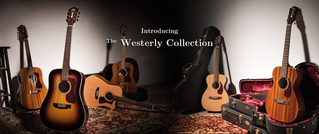 大人気のGUILD Westerlyシリーズがナット幅43mmになって新たに登場!