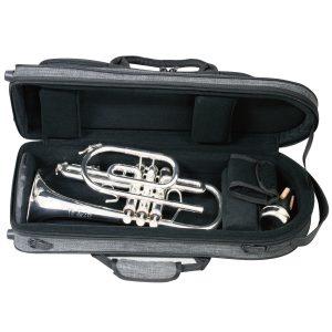 【ツイード管楽器ケース】おしゃれでシックなツイード製アルトサックス用、トランペット用ケースが登場。