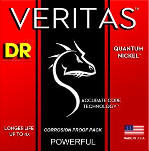 【DR Strings】 VERITAS FOR ELECTRIC GUITAR Release!!!!!